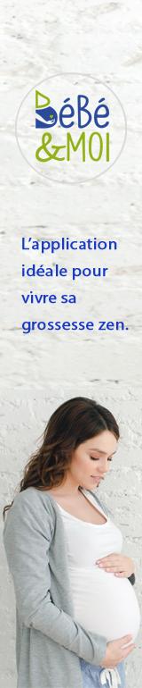 Bébé & MOI, l'app pour une grossesse zen.